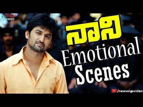 Nani Emotional Scenes - Telugu Sentimental And Emotional Scenes - 2016