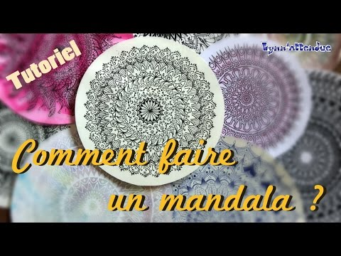 d i y comment faire un mandala youtube. Black Bedroom Furniture Sets. Home Design Ideas