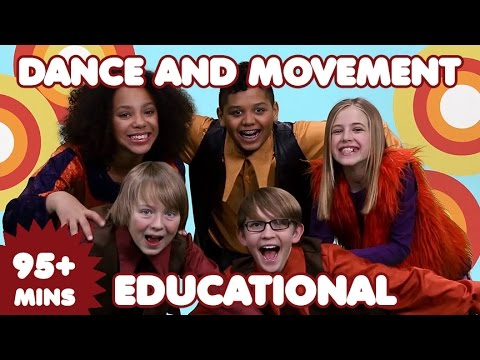 Dance Songs for Kids | 95 Mins of Educational Kids Songs | Nursery Rhymes-