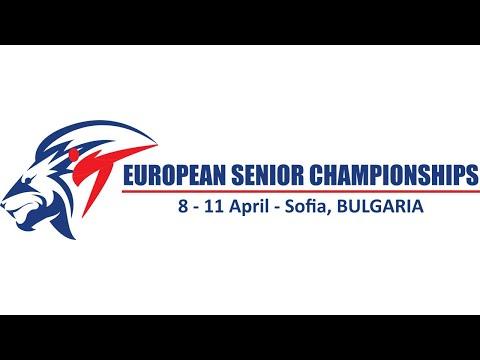European Senior Championship - 2021 - Sofia - Bulgaria - Court 2