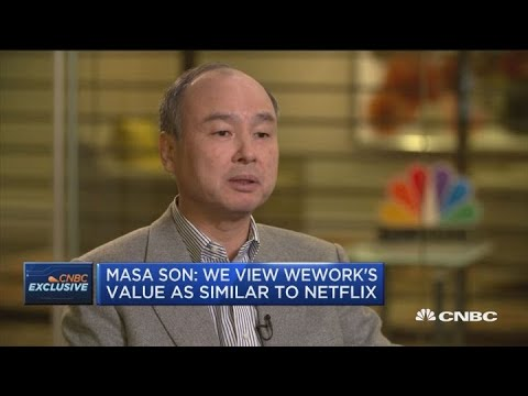 Masa Son on SoftBank's WeWork Investment