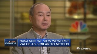 Masa Son on SoftBank's WeWork Investment