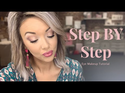 Step By Step Eye Makeup Tutorial | Using All Mary Kay Cosmetics | Amber Lykins