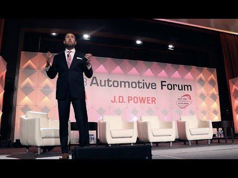 Jonathan Collegio at 2018 Auto Forum NY