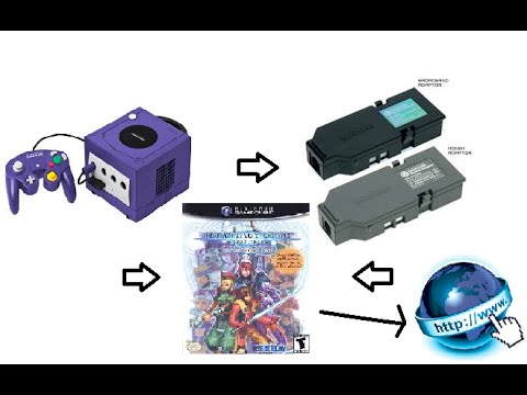 Phantasy Star Online GameCube Version How To Connect Online To SCHTHACK Server With Modem Adapter