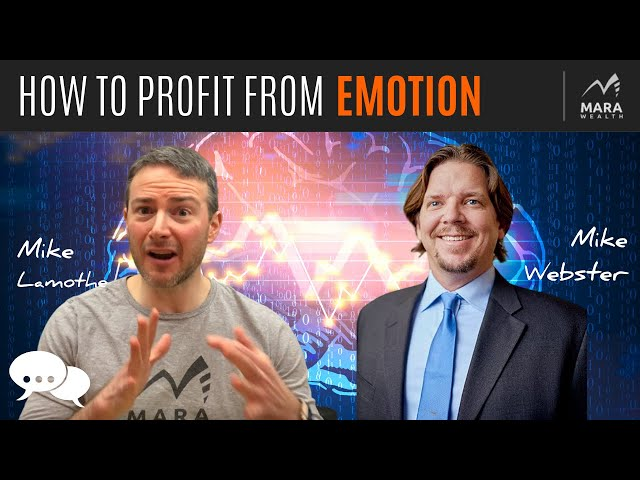 How To Profit From EMOTION | TRADER'S MINDCHAT SHOW W/ GUEST MIKE WEBSTER