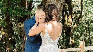 Kari & Kyle // Ridgefield, WA Wedding Highlight video - Best First look Ever
