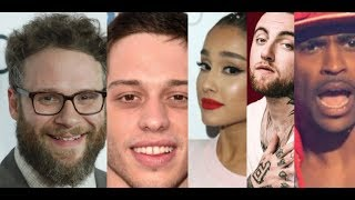 Seth Rogan REACTS in DISGUST to Ariana Grande and Pete Davidson PDA to Make Mac Miller and Sean MAD