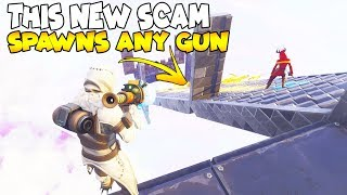This New Scam Will Give You Any Gun! 😱 (Scammer Gets Scammed) Fortnite Save The World