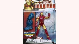 Marvel Legends Heroic Age Iron Man Figure 6 Inches (Toy)