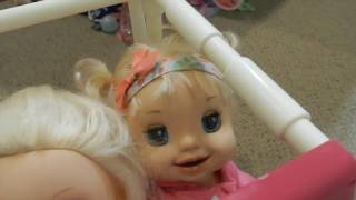 Baby Alive Drives Car! Emma Tha Crazy Driver