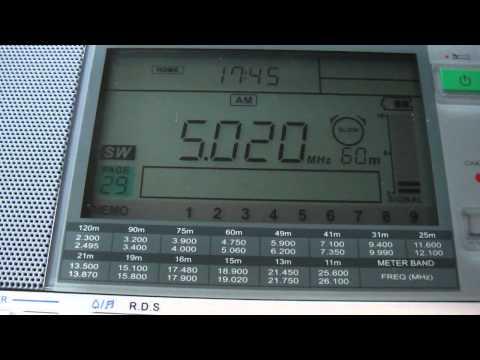 SIBC 5020kHz, Cross Radio 4755kHz (30 Apr 2012 0844,0859UTC)