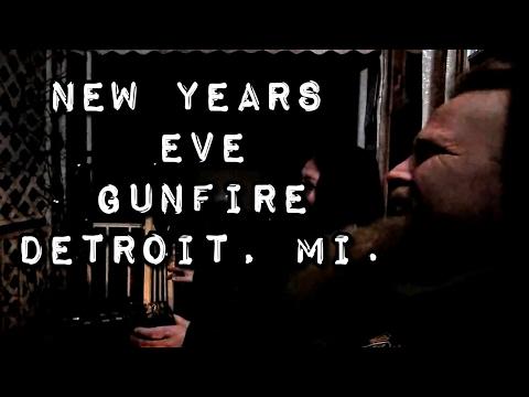 2017 NYE Detroit Gunfire not in Brightmoor
