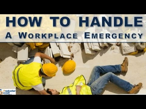 How to Handle a Workplace Emergency - Prudential Overall Supply