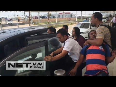 Petugas  BNNP Menyergap Kurir Narkoba Di Bandara Ahmad Yani - NET JATENG