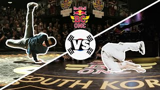 Red Bull BC One Cypher South Korea 2015 | Semifinal B-Boys: Octopus vs. Zooty Zoot