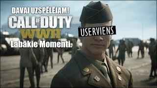 Davai Uzspēlējam Call Of Duty WW2 Labākie Momenti.