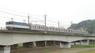 【甲種輸送】 EF65-2094+東急3000系6両 梶ヶ谷貨物ターミナル~府中本町通過