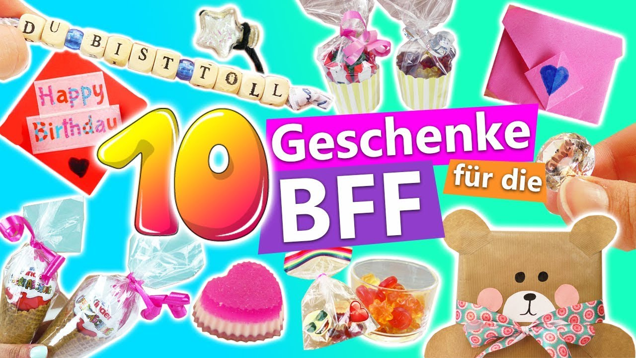 10 s e diy geschenke f r die bff geschenkideen f r die beste freundin schnell und einfach. Black Bedroom Furniture Sets. Home Design Ideas