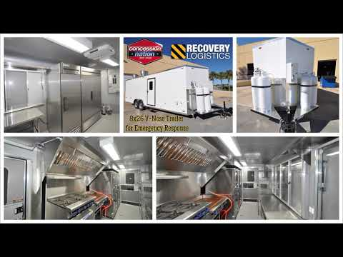 Emergency Response Trailers For Sale