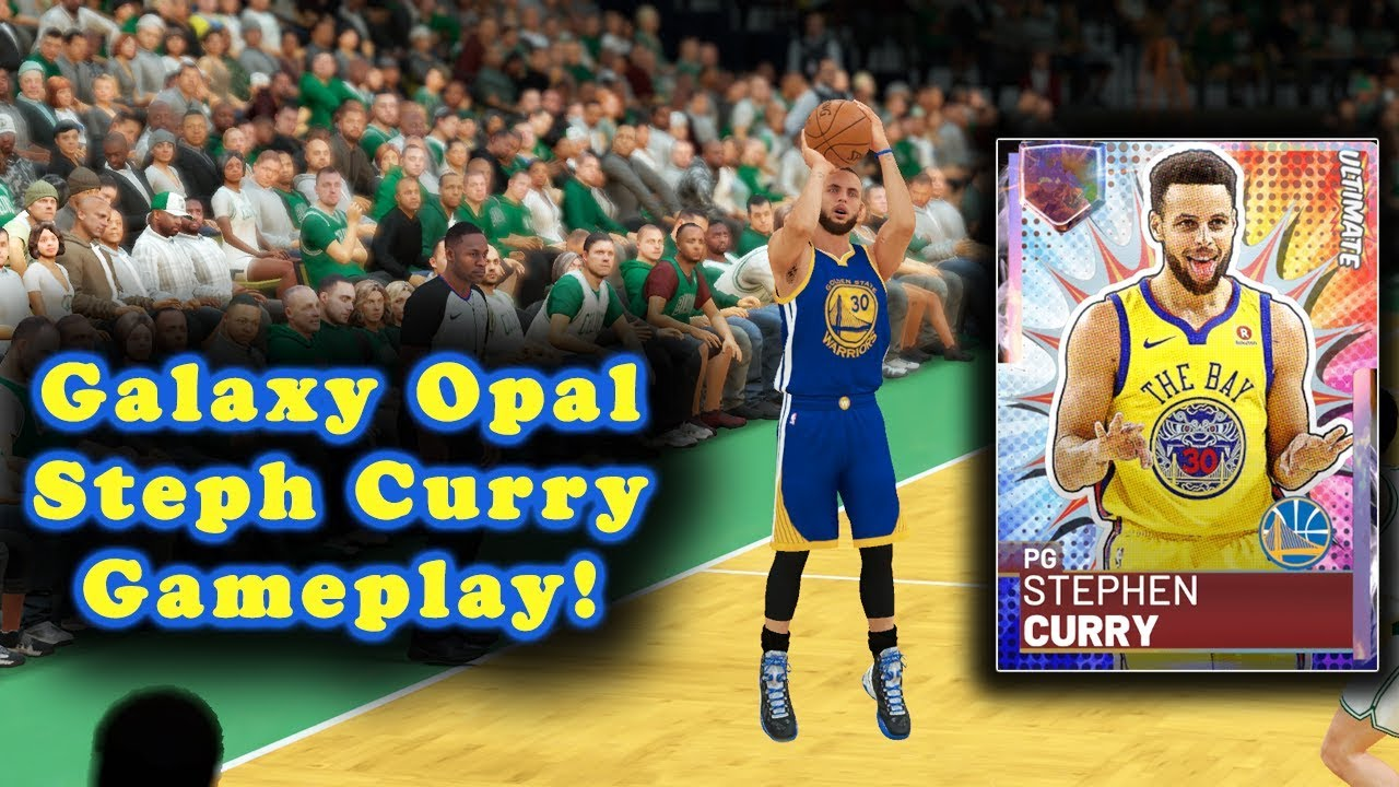 Galaxy Opal Stephen Curry Ultimate Gameplay This Card Is Insane Nba 2k19 Myteam