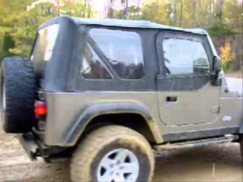 Nano Coated Jeep in mud