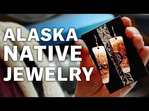 Making Alaska Native Jewelry - Sitka