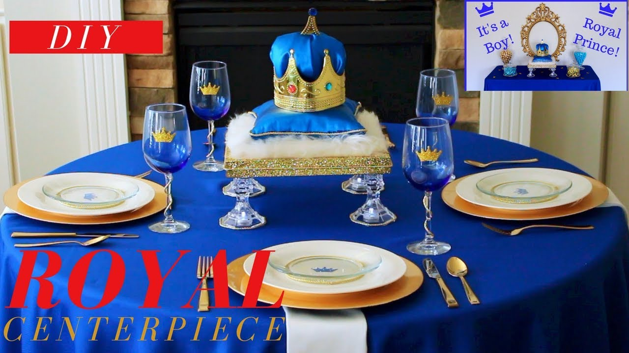 DIY ROYAL PRINCE BABY SHOWER IDEAS ROYAL PRINCE BABY SHOWER