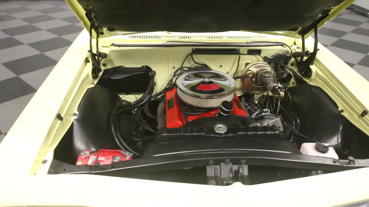 3980 Atl 1966 Chevy Impala Ss Youtube Engine