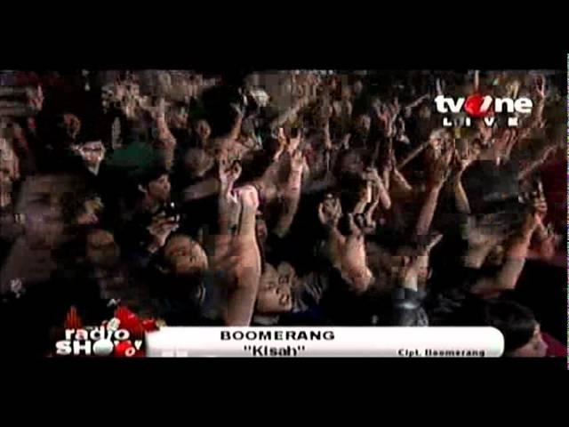 BOOMERANG band  @RadioShow_tvOne