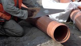 🧱⛏Como Colocar Tubo de Plástico Para 🚱Drenaje Sanitario