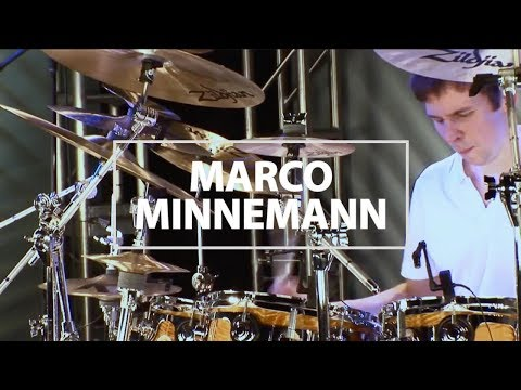 Marco Minnemann Drum Solo With Music  Alastair Taylor