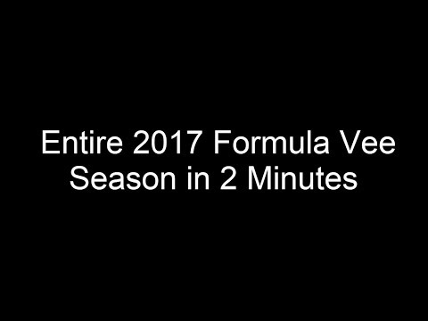 Entire 2017 Irish Formula Vee Season in 2 Minutes
