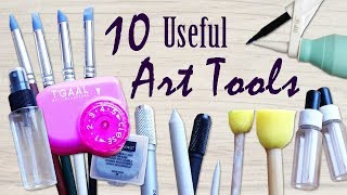 10 Useful Art Supplies to Have – My Top Ten Art Accessories