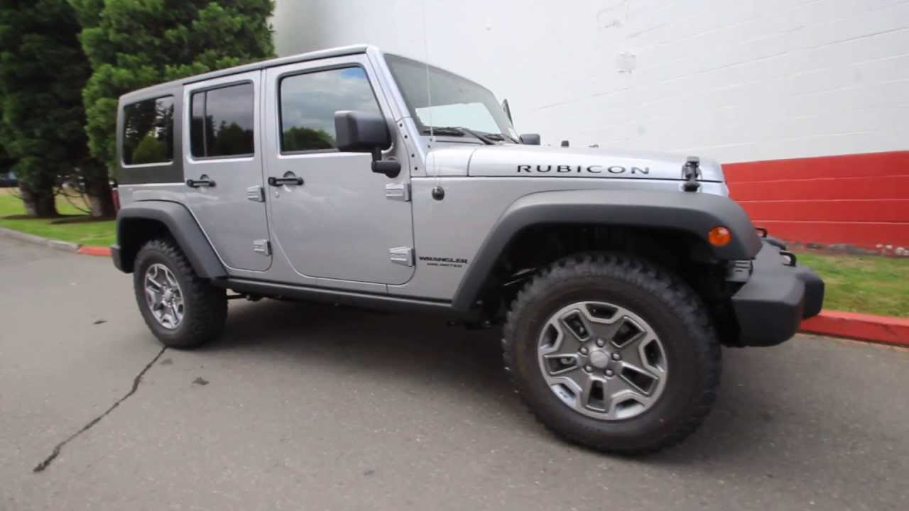 El115491 2014 Jeep Wrangler Unlimited Rubicon