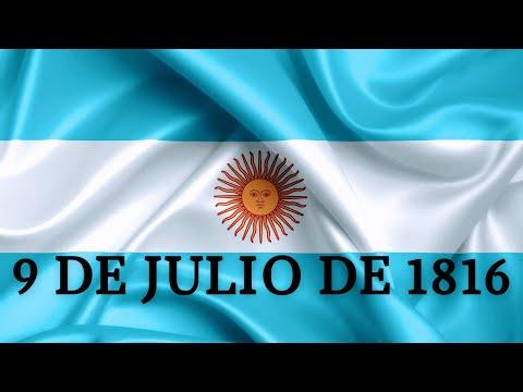 9 DE JULIO de 1816   #MAMIROCA   Historia del Hombre