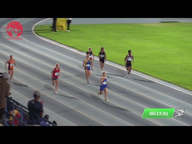 Final Girls 15 200m - 2020 Tuks PUMA School of Speed