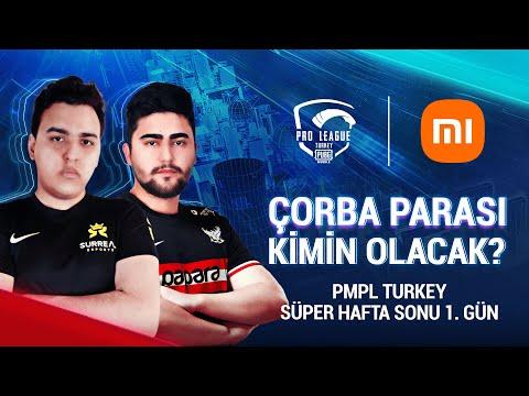 [TR] 2021 PMPL Turkey SHS1G1 | Sezon 2 | Xiaomi | PUBG MOBILE Pro League 2021