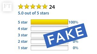 Amazon and the problem of fake reviews