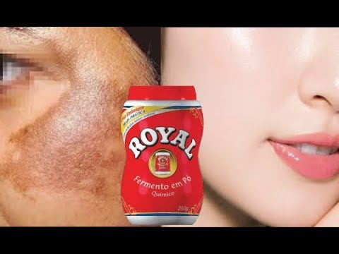 Use Po Royal E Tenha A Pele Lisinha E Sem Manchas 100 Aprovado