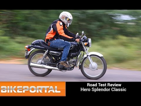 Hero Splendor Pro Classic Test Ride Review - Bikeportal