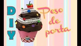 DIY: Peso de porta Cupcake