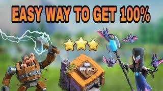BH6 (BUILDER HALL 6) BEST ATTACK STRATEGY WITH NIGHT WITCHES | BH6 MASS NIGHT WITCH 3 STAR ATTACKS |