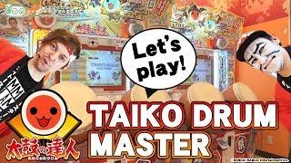Let's play Taiko no Tatsujin/Taiko Drum Master | Japanese Drum Music Game