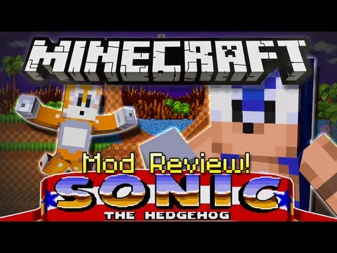 Minecraft   SONIC THE HEDGEHOG MOD!   Mine With Sonic And Friends! [1.4.6]