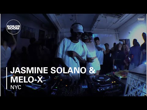 Jasmine Solano & Melo-X Boiler Room NYC DJ Set