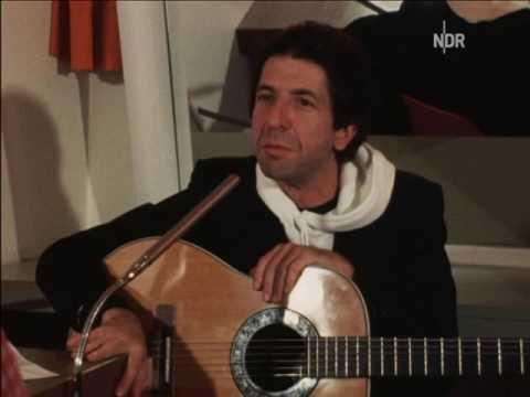 Leonard Cohen feeling sad