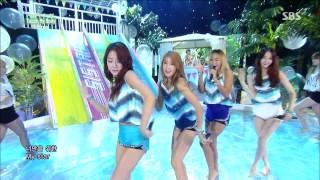 140727 Inkigayo Sistar - OK GO!+Touch my body