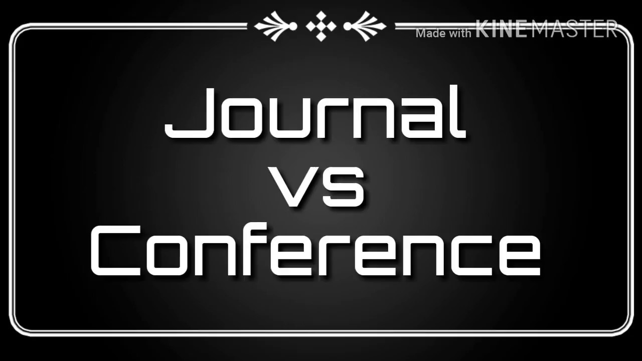 Journal vs Conference papers