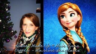 Disney Make up & Hair Anna - Frozen / La reine des neiges